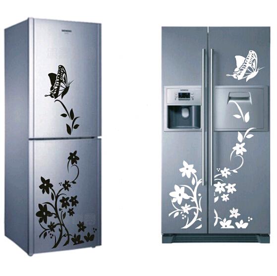 Creative Kitchen Wall Decor: Aliexpress.com : Buy Creative Refrigerator Sticker Butterfly Home Decor DIY Wall Stickers For