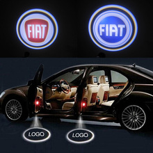 Ghost Shadow Light Case For Fiat Citroen Peugeot Renault CREE LED Car Logo Projector Car Emblem Welcome Door Light 3D Laser Lamp(China (Mainland))