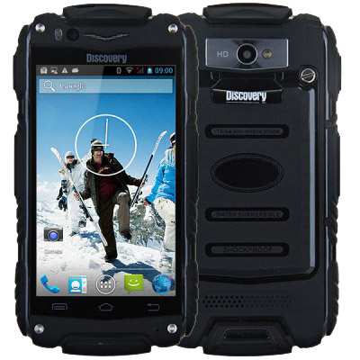 Discovery V8 SmartPhone MTK 6572 Dual Core Android 4.2 Dustproof Shockproof 3G WCDMA GPS Wifi Super Outdoor Mobile Phone(China (Mainland))