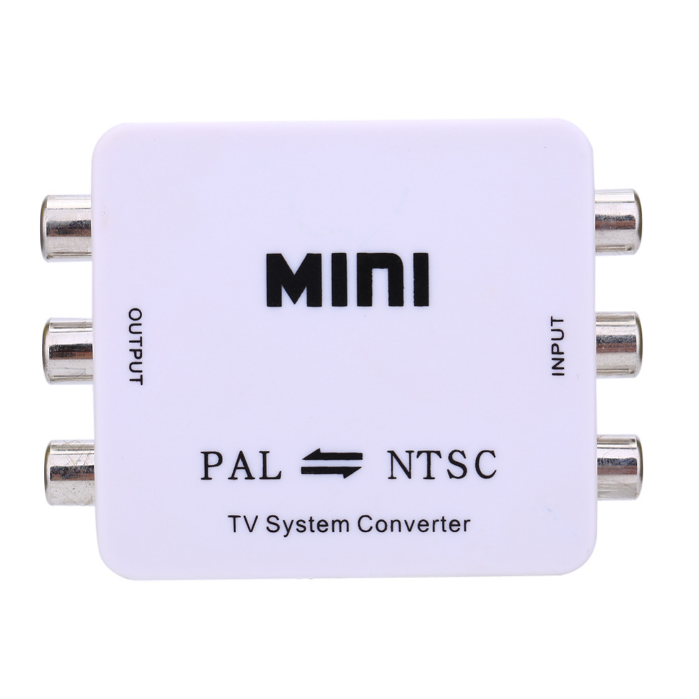Dual-Way TV Format Video System Converter Composite Connection Mini Portable PAL to NTSC or NTSC TO PAL Bi-directional(China (Mainland))