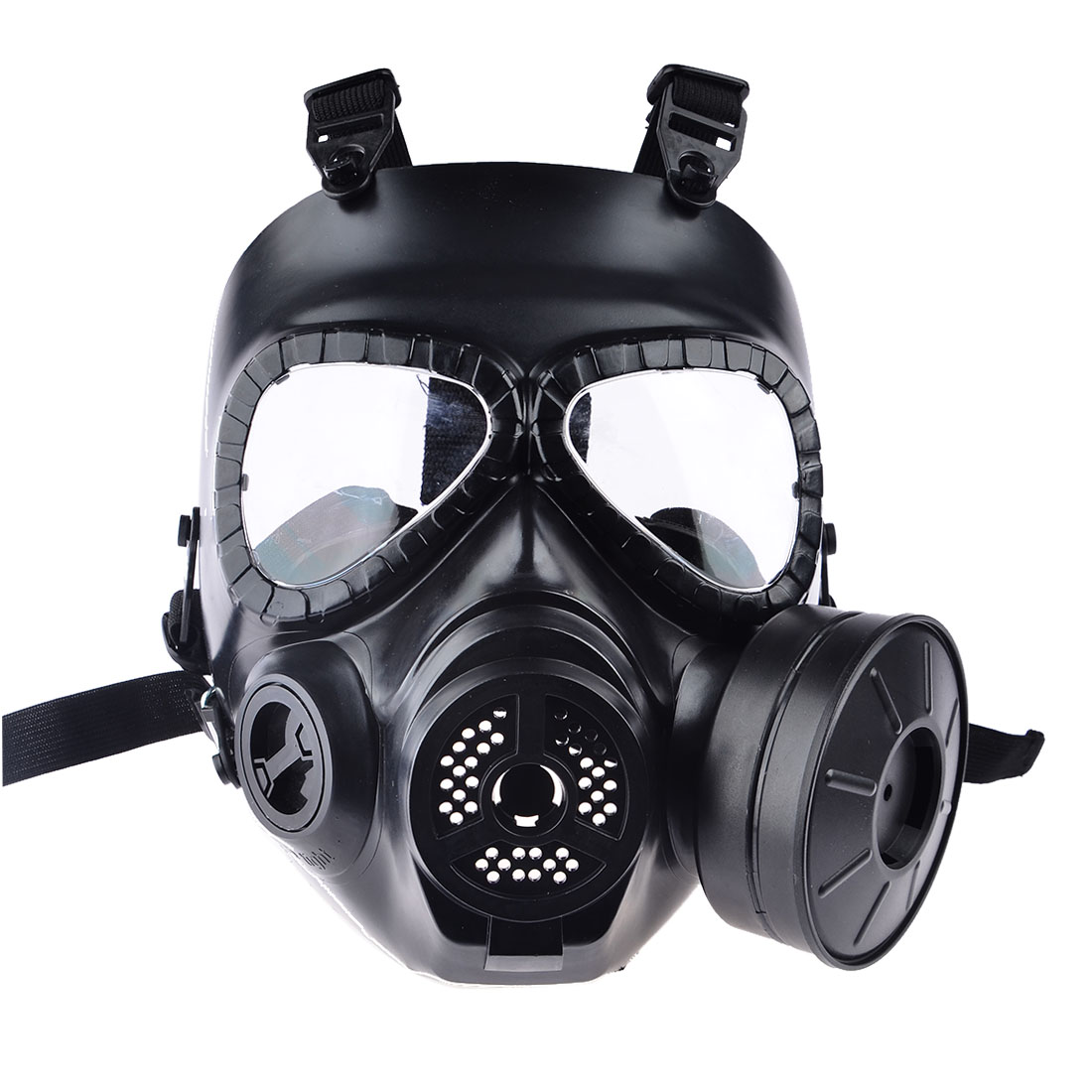 Hot CS Airsoft Paintball Dummy Gas Mask with Fan for Cosplay Protection Halloween Evil Antivirus Skull Festival Decor(China (Mainland))