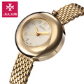 New Julius Lady Woman Wrist Watch Quartz Hours Best Fashion Dress Korea Bracelet Steel Round Lovely