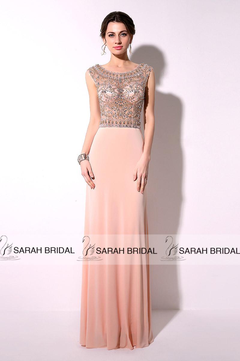 Blush Evening Dresses - Prom Dresses Vicky