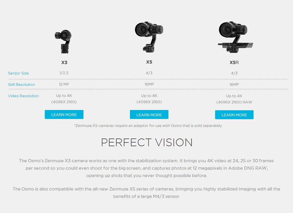 2016 New Dji Osmo handheld 4K cameras and 3-Axis Gimbal Phantom 3 new releases heat in stock free shipping