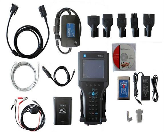 DHL free GM TECH2 diagnostic tool (GM,OPEL,SAAB ISUZU,SUZUKI HOLDEN) gm tech 2 scanner Without black plastic box(China (Mainland))