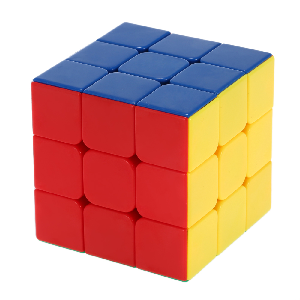 Hot Sale 3 * 3 * 3 Magic Cube Shengshou Colorful Magic Cube Speed Ultra-smooth Stickerless Cubo Puzzle Twist Educational Toy(China (Mainland))