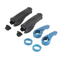 Anti slip Road Cycling Mountain Bike Grips Rubber and Aluminum Alloy Integrated mtb Handle Bicycle Grips