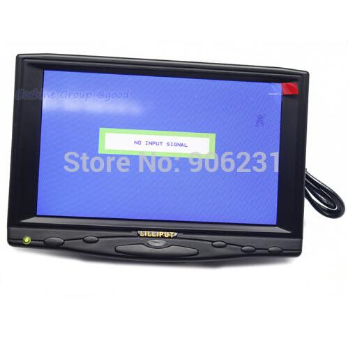 "Lilliput 619A 7"" HD on Camera Field Monitor VGA/AV/HDMI/DVI Input(China (Mainland))"