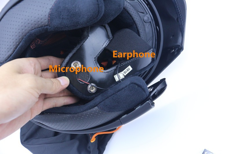 Professional Safety Motorcycle Bluetooth Helmet Double Leens Flip Up motorbike Helmet DOT ECE Approved Cruiser Bike Helmet