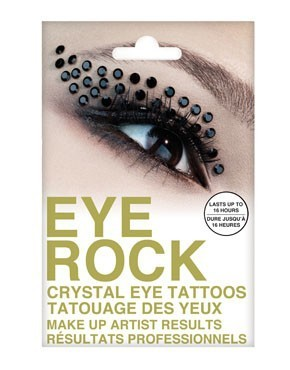 Cheaper FAST DHL 800 Pairs Novelty Temporary Eye Rock Tattoo Sticker/Eyelip Crystal Tattoos Professional Makeup