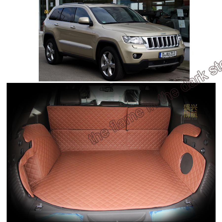 Floor mats jeep grand cherokee 2011 - Free Shipping Car Trunk Mat Cargo Mat For Jeep Grand Cherokee Wk2 2011 2012 2013 2014