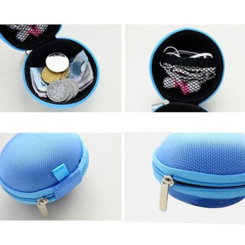 Новый портативный овальный маленький портмоне женщины девушки холст гарнитура