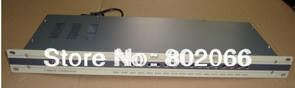 8 channels CATV Separate Frequency CATV Modulator for hotel/school/dormitory(China (Mainland))