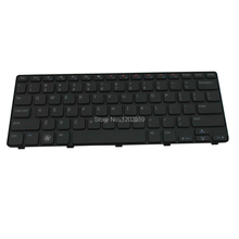 NEW Laptop keyboard for Dell Inspiron M101Z series Notebook Accessories US Parts Teclado Replacement Wholesale (K1375-M101Z-HK)