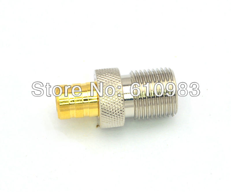 10 Pieces SMB to F Adapter SMB Female jack to F jack Female RF Coax Connector Adapters Straight(China (Mainland))