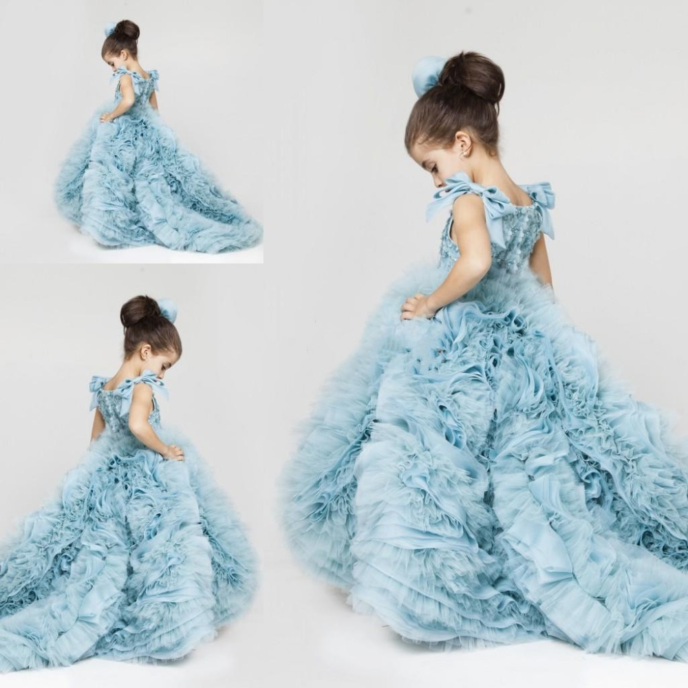 2015 pretty flower girls dresses for weddings jewel ruched for Girls dresses for a wedding