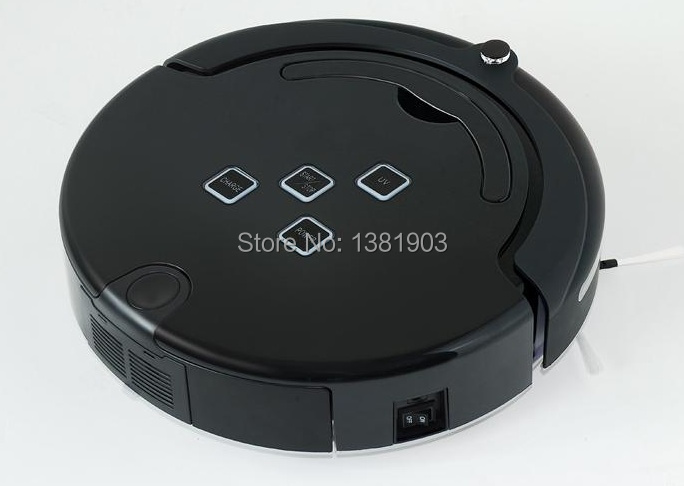 dust mites robot vacuum cleaner with remote control,auto charging,Mop function Model No.EG-210A black(China (Mainland))