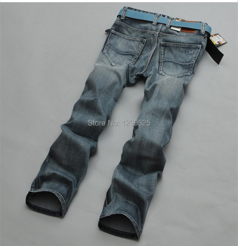 Freeshipping 2014 NEW USA brand business men jeans pant autumn casual designer Denim Jeans Pants blue mens - Best Service for You store