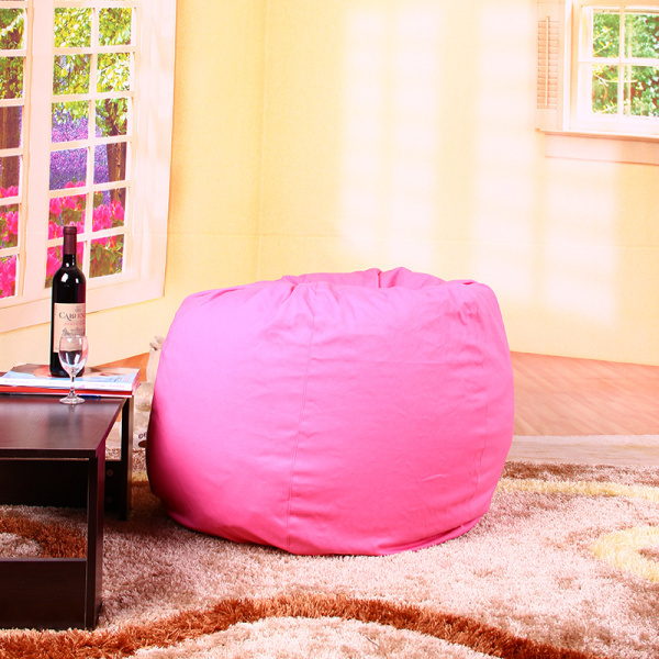 Фотография  large tear drop  pink bean bags seat cotton beanbag  sofa without filling bean bag cover free shiping no filler