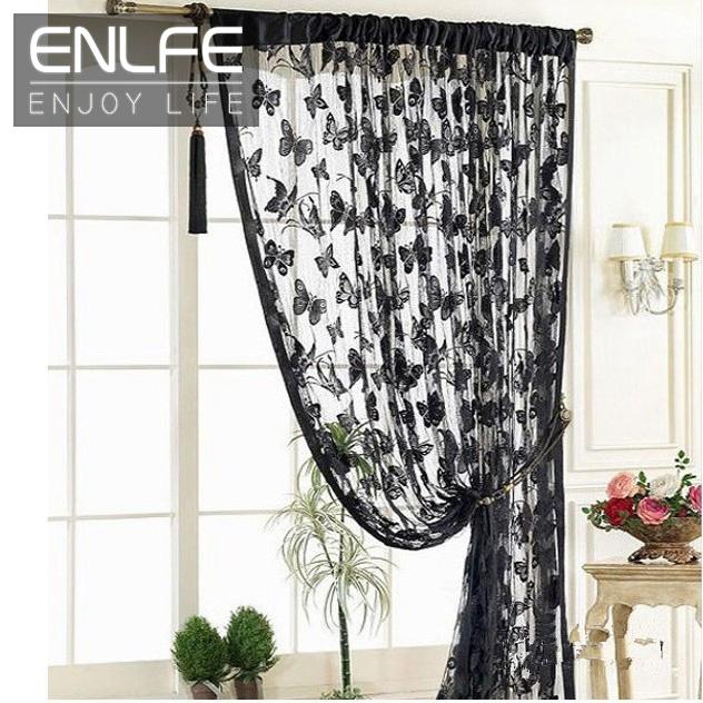 Butterfly Kitchen Curtains: ENLFE New Fashion 1pc H200cm X W100cm Kitchen Door