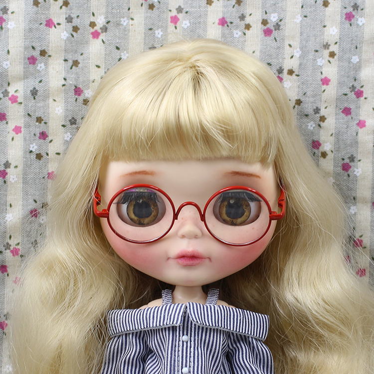 Sunglasses&box for Azone Momoko Licca Pullip Blyth Doll Clothes Accessories(China (Mainland))