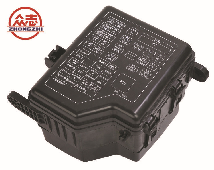 Accessories fuse box seat 22 road BX2223-1 manufacturers of automobile insurance box cars(China (Mainland))