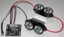 Spot lumière infrarouge 4x LED IR conseil pour CCTV caméras de vision nocturne(China (Mainland))