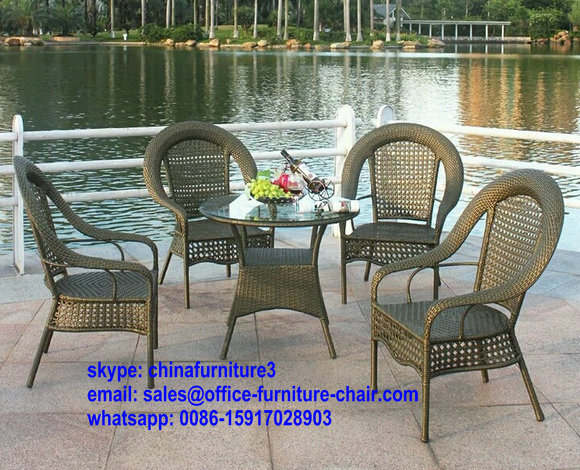New Arrival High Quality Outdoor Indoor Dining Set Rattan