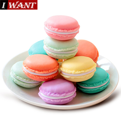 14pcs/Lot Mini Teddy Macaron Storage Box for Jewelry, Lovely Candy Color Small Thing Organizer Storage Boxes(China (Mainland))