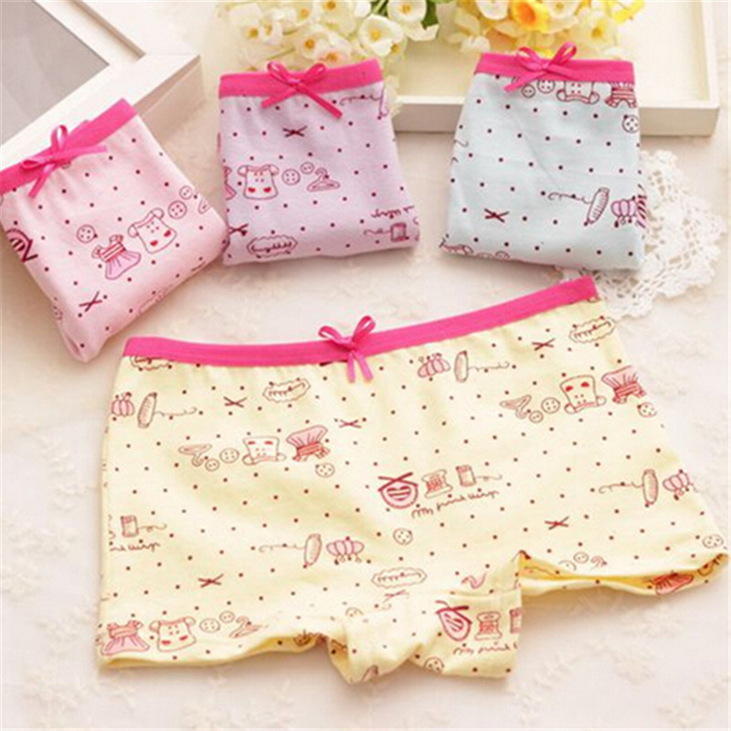 New Hot Kids Underwear Panties Girls Calcinha Infantil Baby Cotton Fashion Print Lovely Cartoon Briefs Children Clothes Boxers
