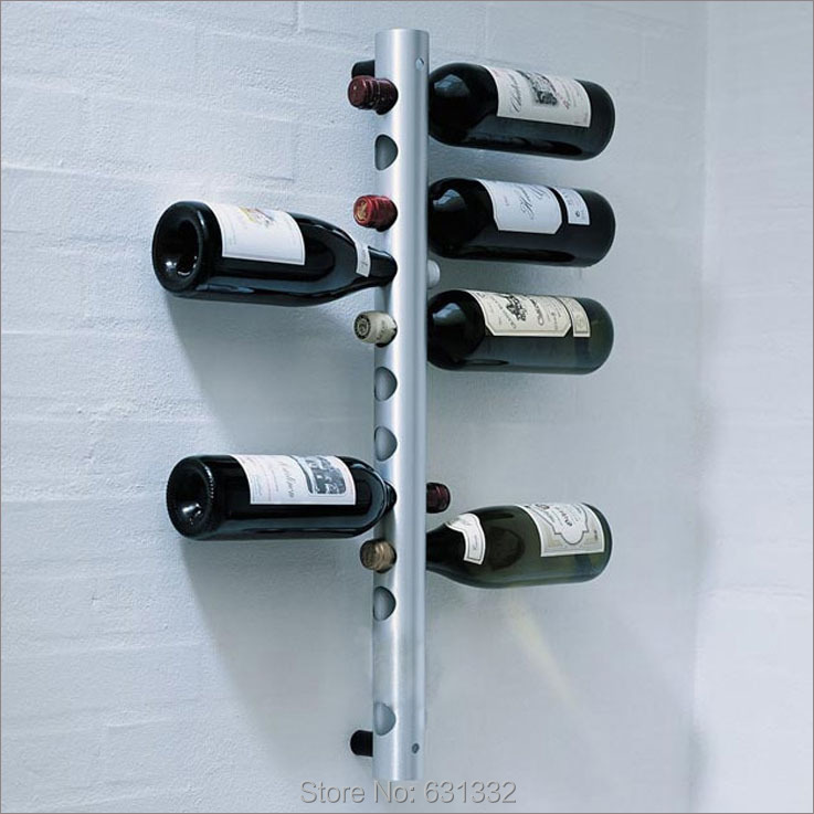Free Shipping European Style Stainless Steel Wine Rack