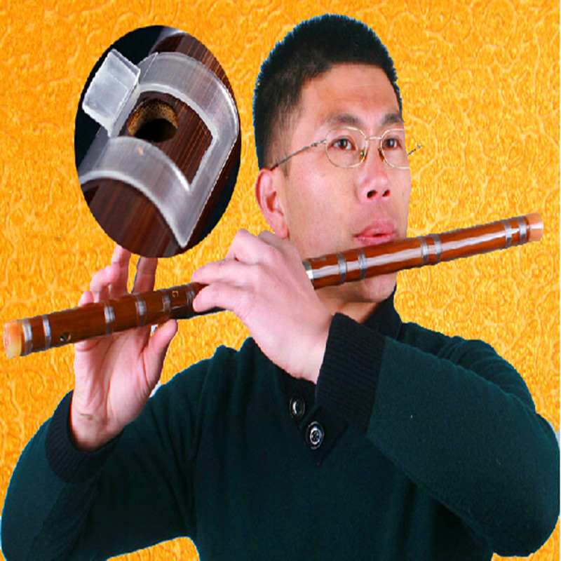Whistle and Flute Musical Instrument Bamboo Flute C D E F G Transverse Flute Professional Flauta brass joints Whistle and Flute(China (Mainland))