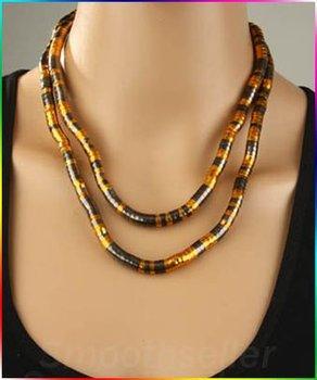 Free shipping Brand New Wholesale Retail Black/gold tone flexible bendy snake DIY necklace/bracelet