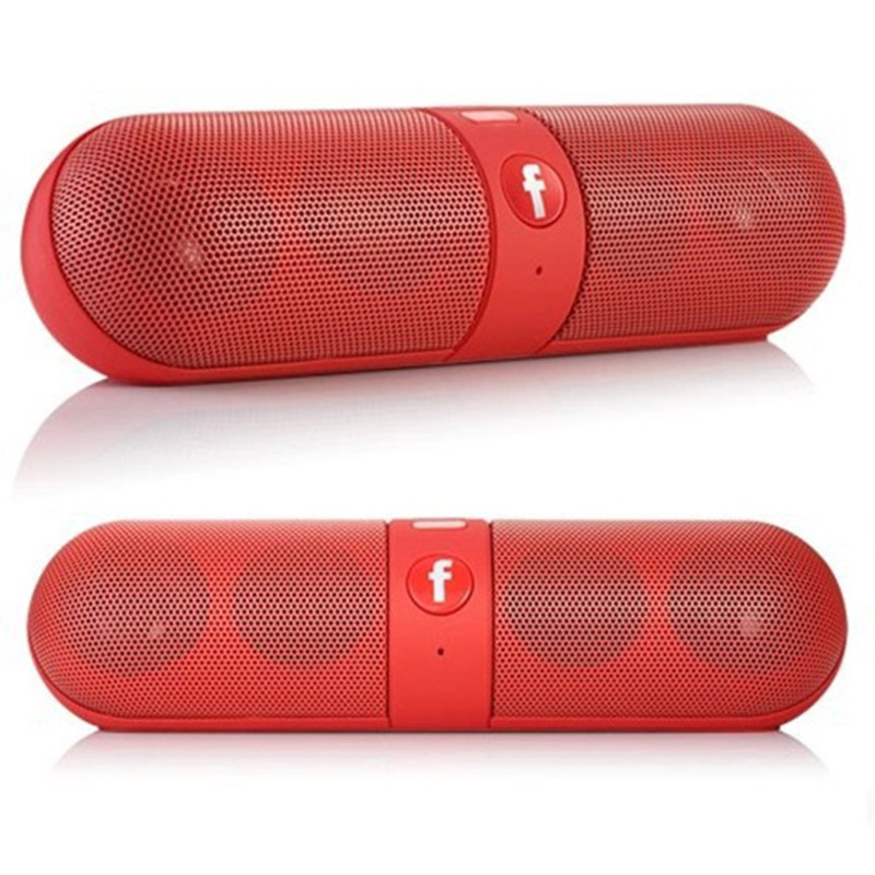 Portable Bluetooth Speaker Mini Capsule Computer Speaker Outdoor Hands-free Wireless Speaker For Mobile Phone