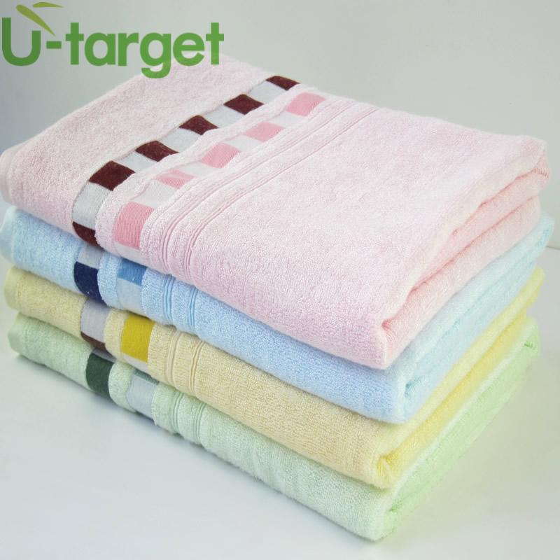 Bath Towel 100% Bamboo Fiber 70x140cm toalha de banho Towel Solid Plain Dyed Quick-Dry Bath Towel Woven(China (Mainland))