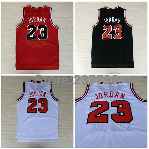 Buy Michael jordan basketball jersey #23 t-shirts cheap jerseys at ...