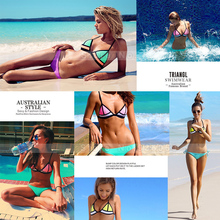 Triangl Bikini Swimsuit set fashion Australian Brand high quality Swimwear Neoprene biquini maillot de bain women