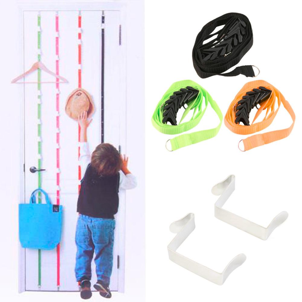 1Pc Over Door Hanging Lanyard Hanger Hat Handbag Coat Tidy Storage Organizer Hook(China (Mainland))