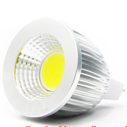 high power MR16 12V 6w 9w 12w led Dimmable cob spotlight lamp bulb warm cool white(China (Mainland))