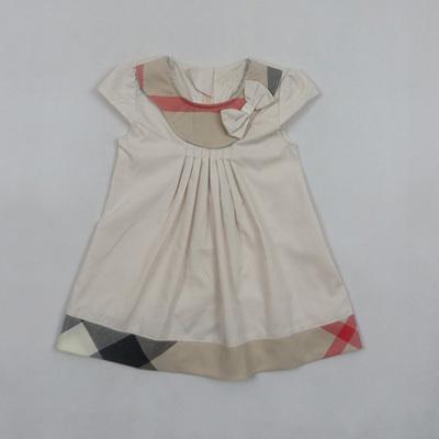 Retail Summer girls dress 2015 new girl dress brand designer girls' dress for 1~4 years children white /blue/Pink/Khaki #6281(China (Mainland))