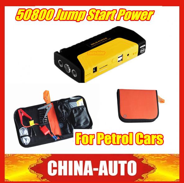 2015 Best Price 12V Emergency Car Jump Starter 50800mAh Multi Function Battery Charger 12V Car Starter for Petrol Car Free Ship(China (Mainland))