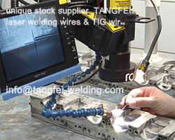 Free shipping 0.5KG/spool 2344 die-casting aluminum&copper casting laser welding wire 0.4mm good price(China (Mainland))