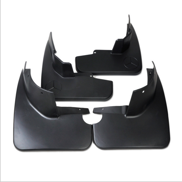 4pcs new mud flaps mudguard for mercedes benz w164 ml320 for Mercedes benz ml350 mud flaps