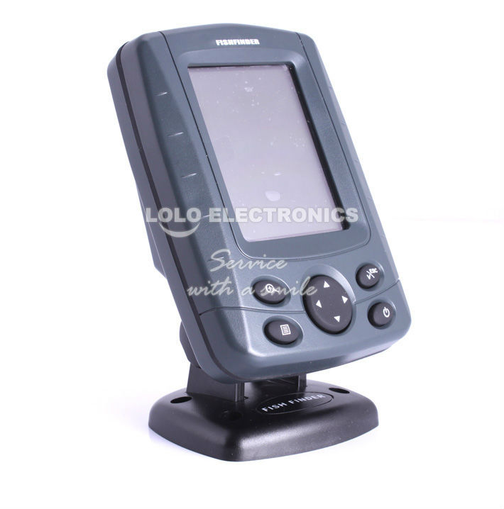 New fishing boat fish finder multi languages waterproof for Cheap fish finders
