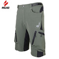 Arsuxeo Baggy Shorts Cycling Bicycle MTB Bike Breathable Shorts Loose Fit Outdoor Cycling Running Cloth with