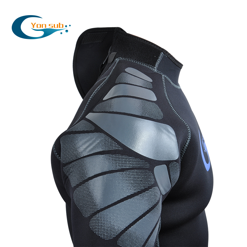 free shipping male Men's 5MM 100% full neoprene SCR diving wetsuits surfing swimming fishing wet suit for men deep dive(China (Mainland))