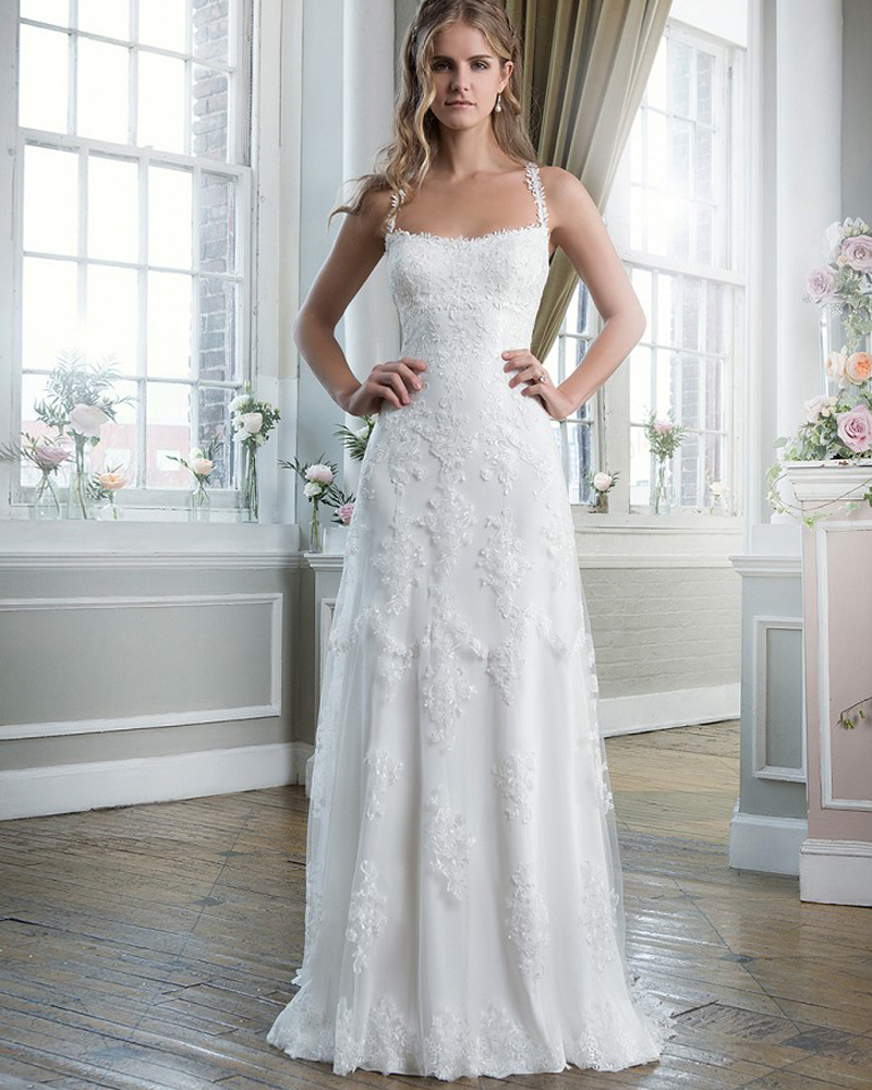 no train wedding dresses plus sizes wedding dress no train Sheer Halter Strapped Organza and Satin Wedding Dress with Applique