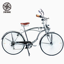 "NOMAD Perfect  26"" Classic Commuter Bicycle,7 Speeds,High Tension Steel Frame,Top Derailleur,Aluminium alloy Rim,140 Spokes"