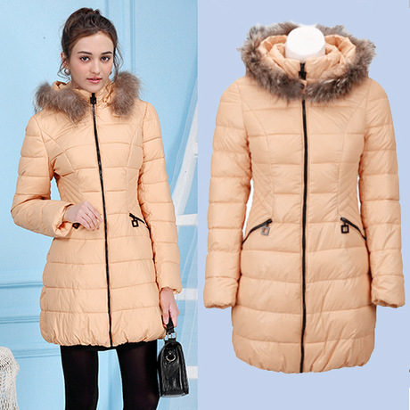 2015 fashion winter coat for women laies long jacket with fur collar hooded covery you young long sleeve parkas thick clothingОдежда и ак�е��уары<br><br><br>Aliexpress
