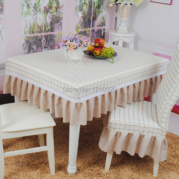 table cloth chair cover set cloth thickening one piece